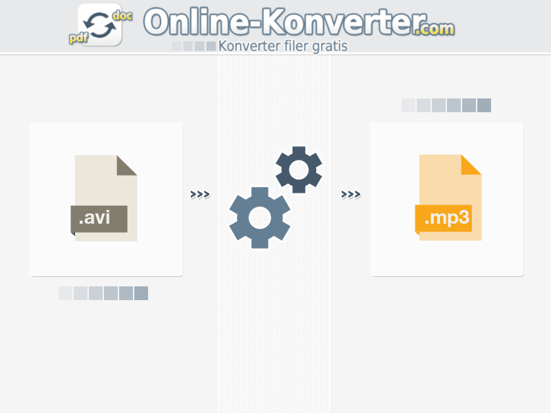 Konverter AVI na MP3 online